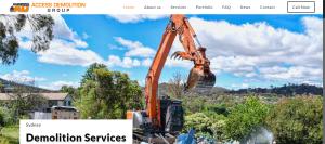access demolition contractor in sydney