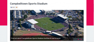 campbelltown sports stadium in sydney