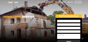 chief civil demolition contractor in sydney