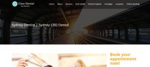 clear dental clinic in sydney