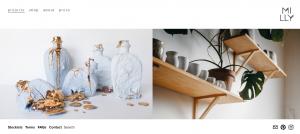 milly dent pottery shop in sydney