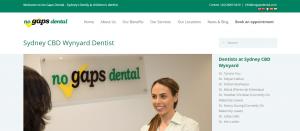 no gap dental clinic in sydney