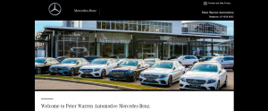 Peter Warren Mercedes-Benz dealer in Sydney