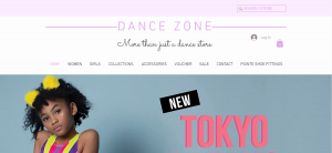dance zone shop in adelaide