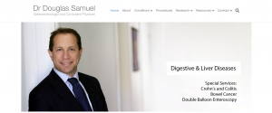 dr. douglas samuel, gastroenterologist in sydney
