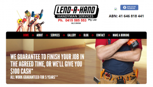 lend a hand handyman services in adelaide