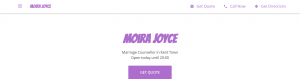 moira joyce marriage counselor in adelaide