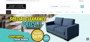 sadler's home furniture store in perth