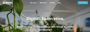 atomix web designers in adelaide