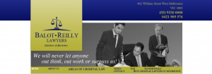 balot and reilly lawyers in melbourne