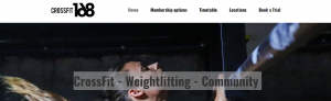 crossfit168 gym in sydney