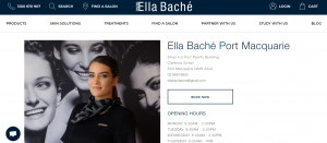 ella bache day spa in port macquarie