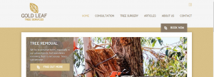gold leaf tree services in canberra