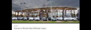 mercedes benz in melbourne airport