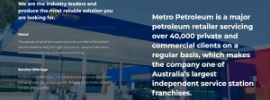 metro petroleum in brisbane