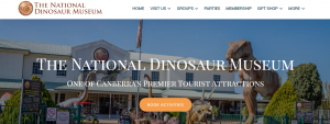 national dinosaur museum in canberra
