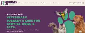 passionate paws vet clinic in hervey bay