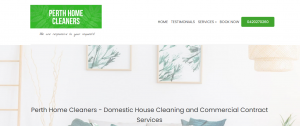 perth home cleaners services