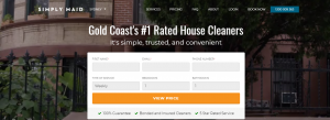 simply maid cleaning services in gold coast