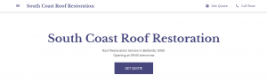 south coast roof restoration in wollongong