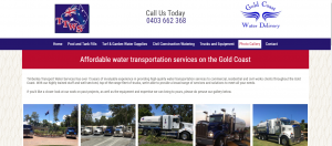 ttws water services in gold coast