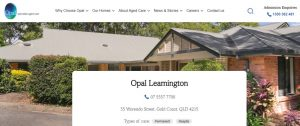 opal specialist aged care in gold coast