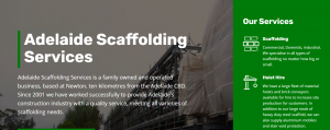 adelaide scaffolding services
