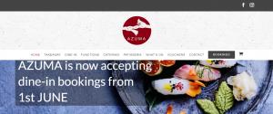 azuma japanese restaurant in sydney