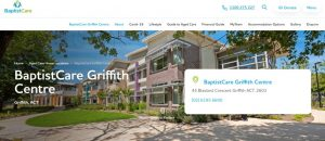 baptistcare aged care home in canberra