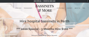 bassinets and more in perth