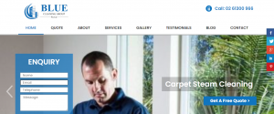 blue cleaning group in canberra