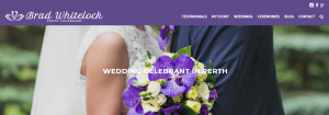 brad whitelock marriage celebrant in perth