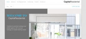 capital residential real estate agents in canberra