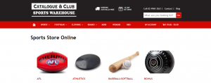 catalogue and club sports warehouse in newcastle
