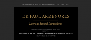 dr paul armenores, dermatologist in adelaide