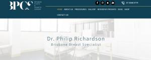 dr richardson, plastic surgeon in brisbane