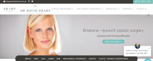 dr sharp, plastic surgeon in brisbane