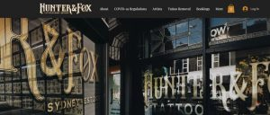 hunter and fox tattoo studios in sydney