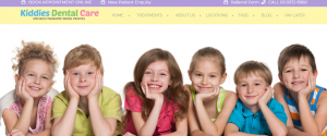 kiddies dental care in melbourne