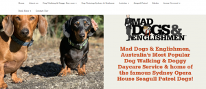 mad dog dog walkers in canberra