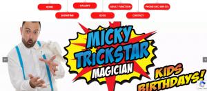 micky trickstar magician in melbourne