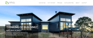natura homes in canberra