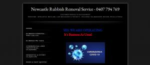 newcastle rubbish removal service