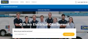 o'brien electricians in melbourne