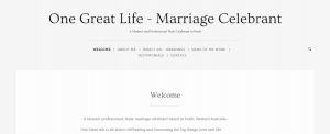 one great life marriage celebrant in perth
