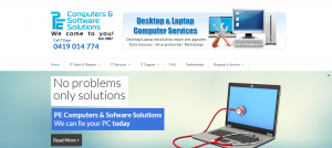 pe computer and software solutions in canberra