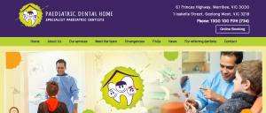 pediatric dental home in melbourne