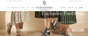 peter sheppard shoe store in sydney