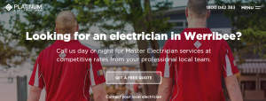 platinum electricians in melbourne