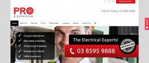 pro electricians in melbourne